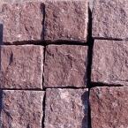 kostka łupana granit Putian Red