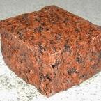 kostka z granitu G562 z Chin