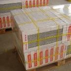 płytki granitowe zapakowane do transportu